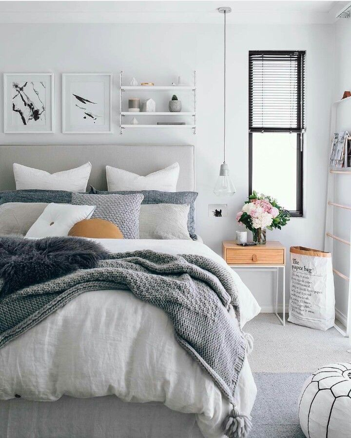 Cute Ideas For Master Bedroom Inspiration Scandinavian Design