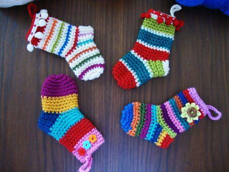 actually small christmas socks ..