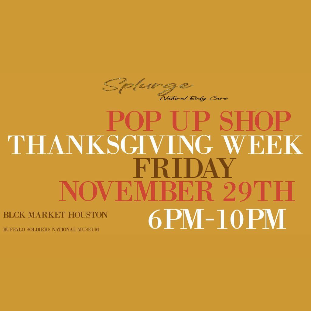 Less than 10 days away Come vibe with us Get your tickets at blckmarkethouston There will be a lot of great vendors in the building support local businesses splurgenbc