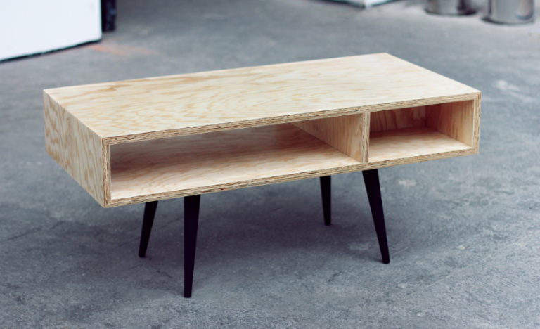 Plywood Coffee Table  - PopularMechanics.com