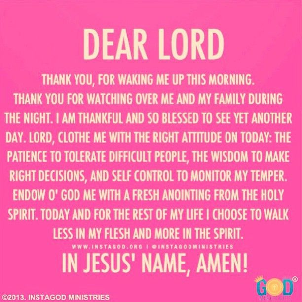 Dear Lord Thank You For Waking Me Up This Morning Thankful Goodmorning Good Morning Prayer Morning Prayers Faith Prayer