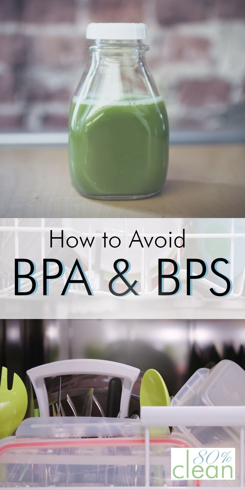 I didn't realize how many products contain BPA and BPS and how bad they were for you! Great tips on how to go BPA free.