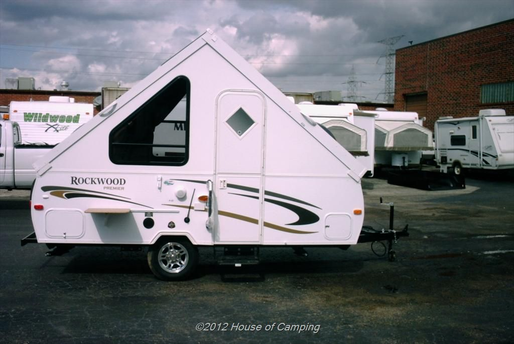 Forest River Rockwood Hard Side A122 Have One This Is Our 5th Camper Smallest Yet But Oh So Cool Popup Camper For Sale Campers For Sale Forest River