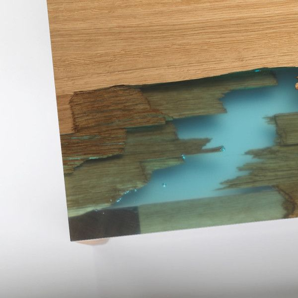 Furniture Inspired by Self-Healing Trees Wood resin, Resin and Woods - broken design holzmobel