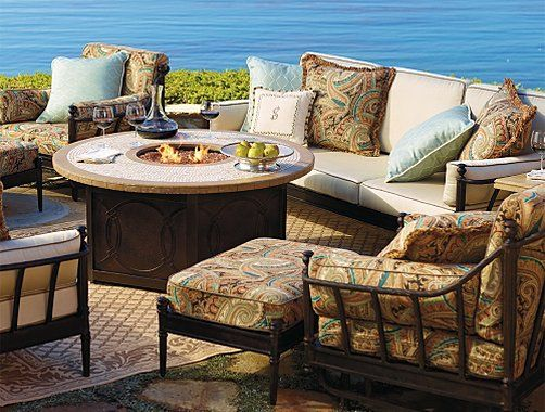 Frontgate Sorrento Outdoor Furniture Collection Patio Furniture