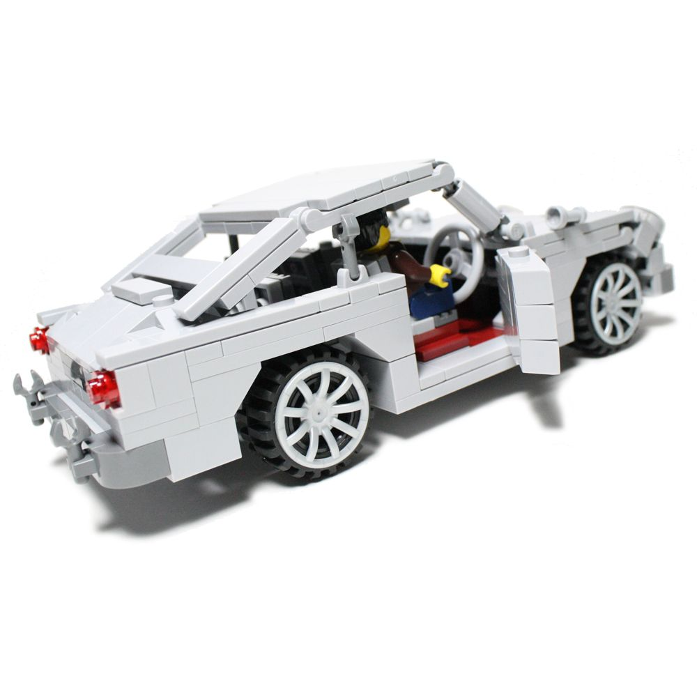 aston martin db5 v2 - custom lego element model | 2011 | ~ 300