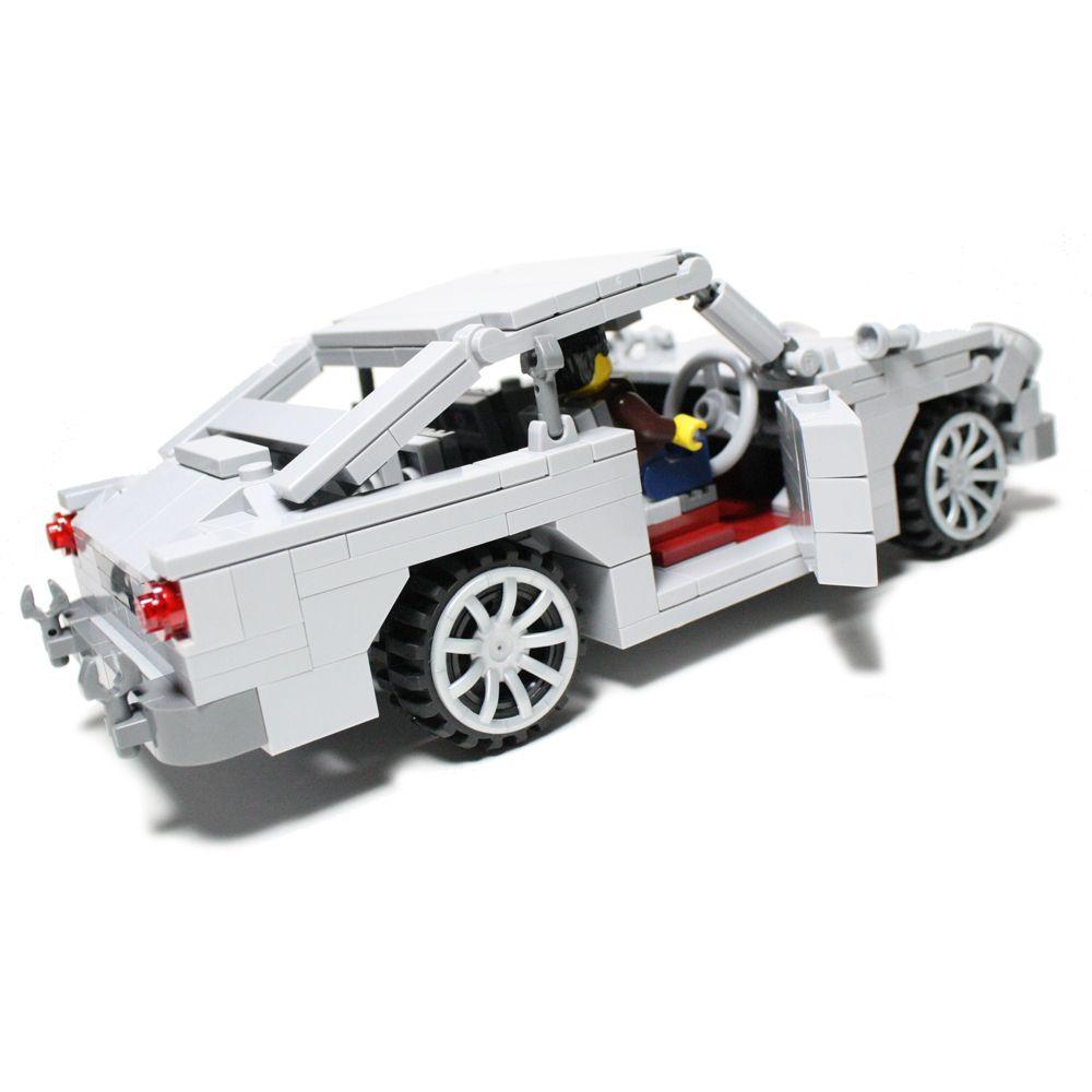 aston martin db5 v2 custom lego element model 2011. Black Bedroom Furniture Sets. Home Design Ideas