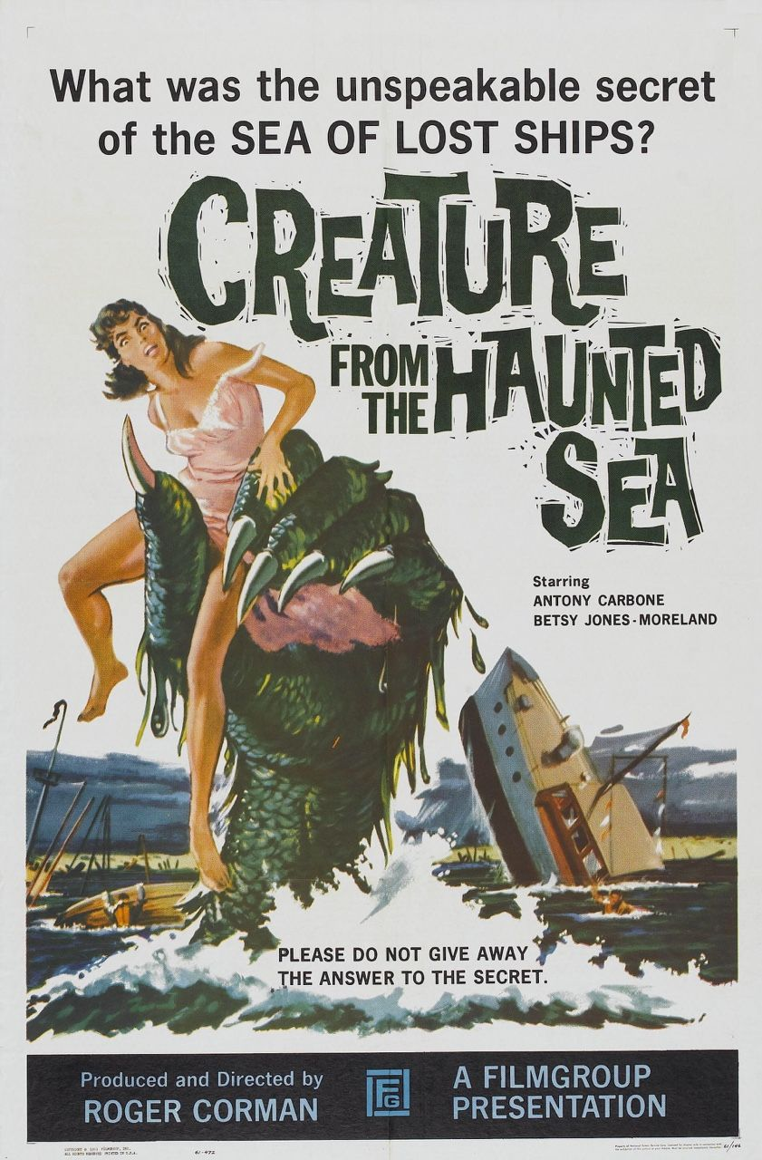Creature from the Haunted Sea, one sheet