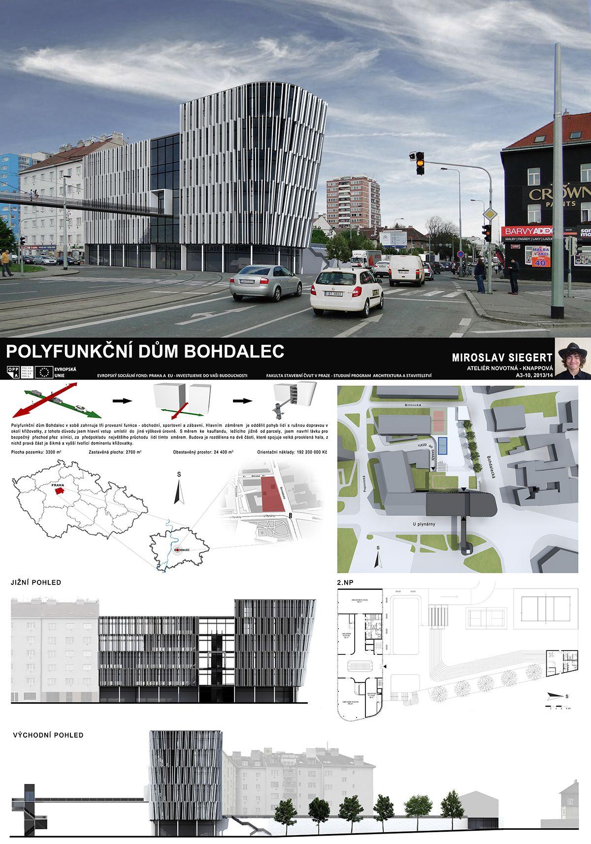 Studentsky Projekt Ls 2013 2014 Fsv Cvut V Praze Polyfunkcni