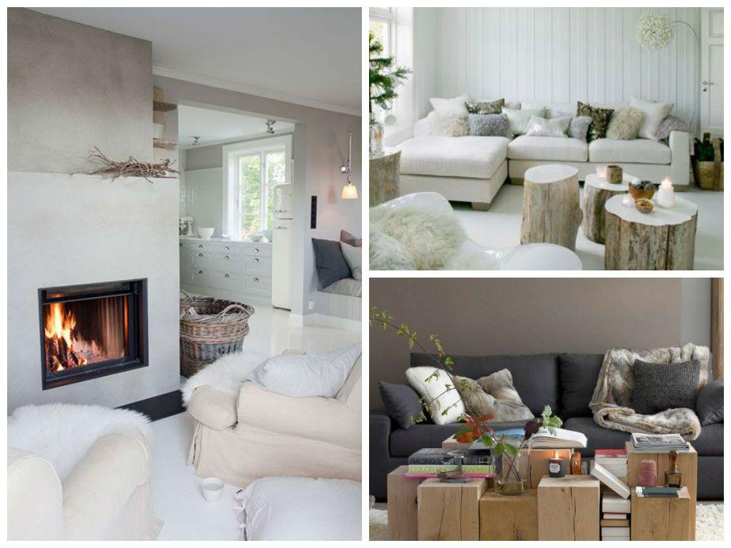 salon cocooning un salon d hiver tout cocoon. Black Bedroom Furniture Sets. Home Design Ideas