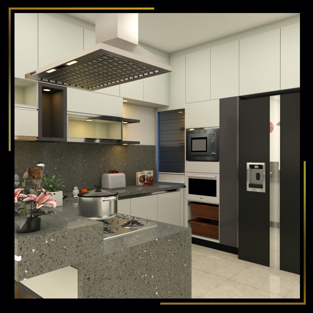 Living Room Interior Designers In Bangalore: Effortlessly Designed Kitchen Decor. If Your Looking For