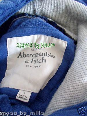 50% off #laborday #sale New Abercrombie s Women Juniors Warm Blue Gray Pullover Hoodie sweat Shirt   eBay