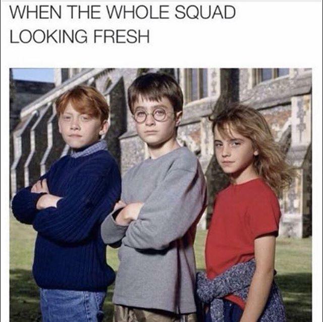Squad Goals ⚡️