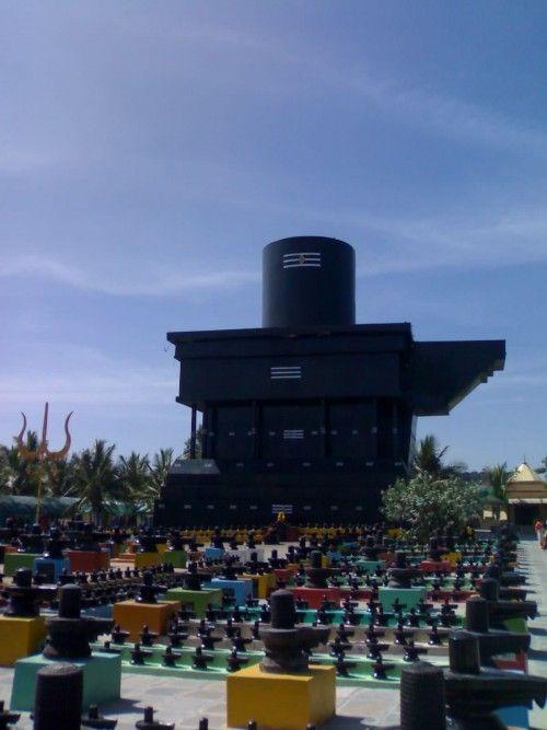 Shiva Linga In Kotilingeshwara Temple Karnataka India Shiva Maha