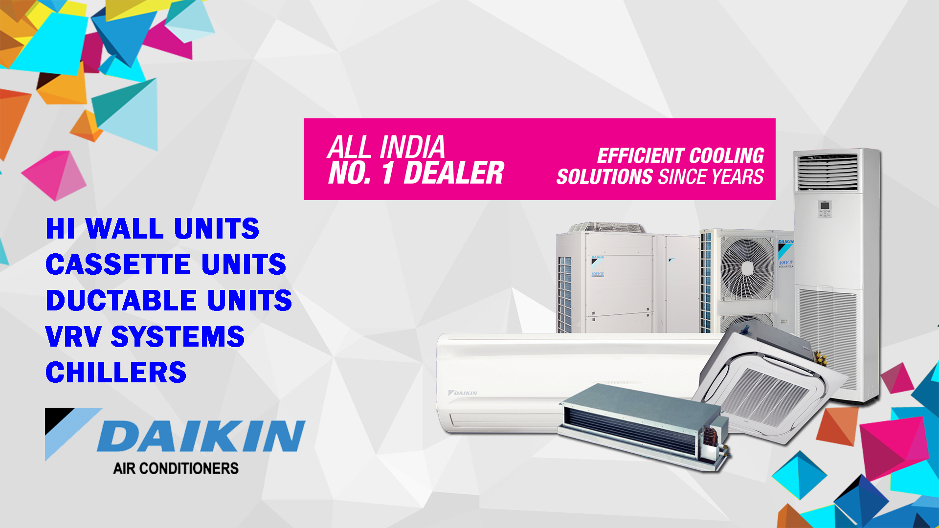 Future Solution is most famous Daikin AC Dealers, Daikin