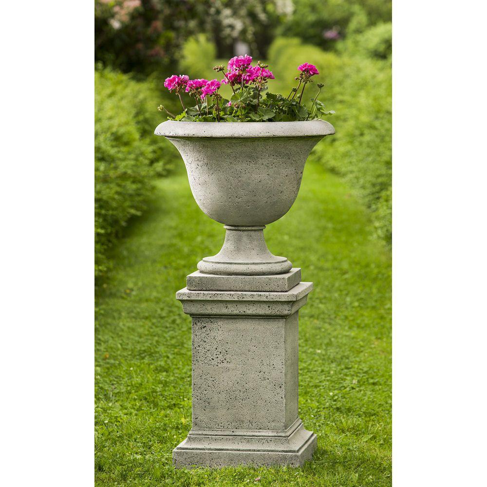 Horchow French Leaf Urn Planter Pedestal Urn Planters Outdoor Planters Planter Pots Outdoor