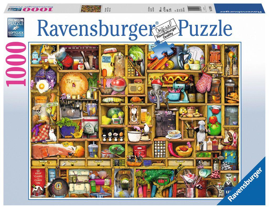 Kurioses Küchenregal   Puzzle shop