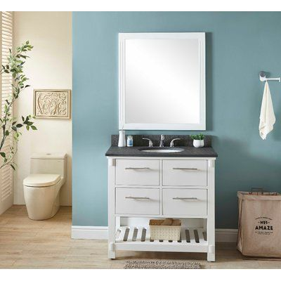 Wrought Studio New Fairfield 37 Single Bathroom Vanity Set Base