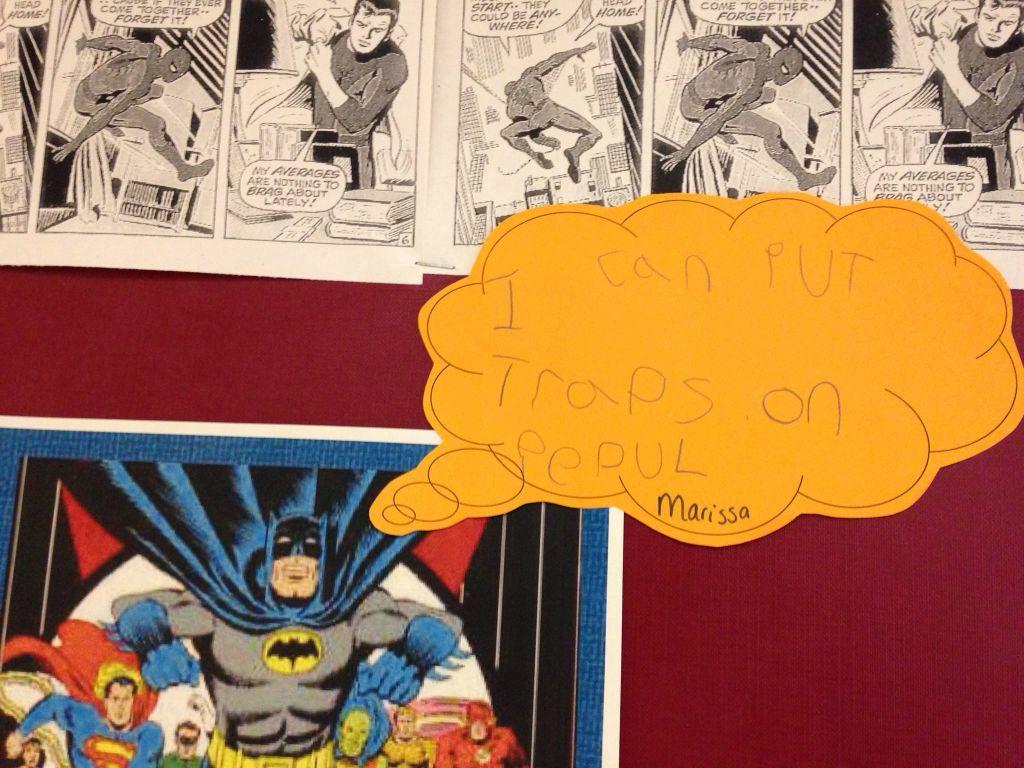 Writing Area Superheroes