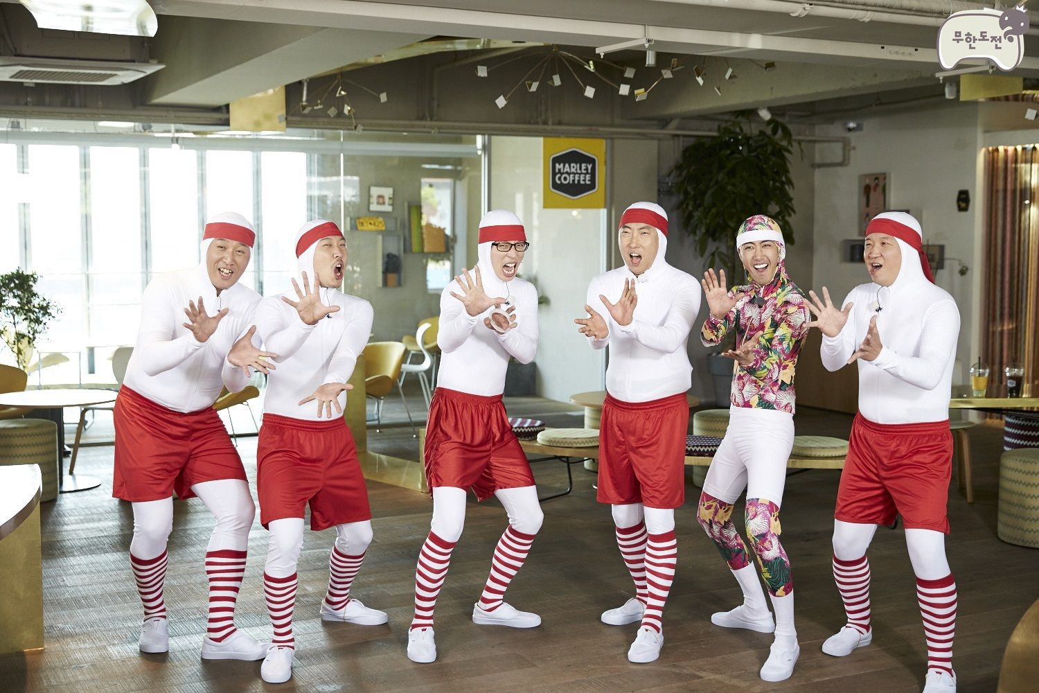 """""""Infinity Challenge"""" Cast Will Remain with 5 Members Once Jung Hyun Dong Leaves   Koogle TV   Infinity challenge. It cast. Challenges"""