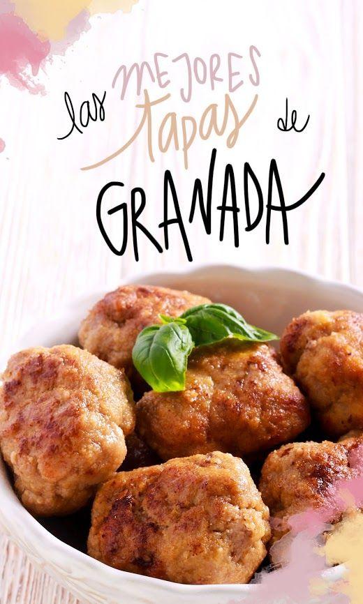 Donde Comer Las Mejores Tapas De Granada Recetas De Comida En Español España Comida Comida