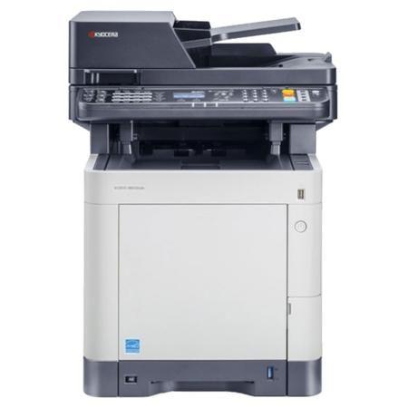 Kyocera Mita M6530CDN  — 31379 руб. —  Для решения широкого круга повседневных офисных задач, в частности, копирования, сканирования, печати и отправки документов по факсу, можно купить МФУ Kyocera Ecosys M6526cdn с 5-строчным ЖК-дисплеем и сетевым интерфейсом. МФУ Kyocera Ecosys M6530cdn благодаря поддержке цветной лазерной технологии печати позволяет создавать отпечатки в цвете на носителях максимального формата A4 плотностью до 220 г/м2 с разрешением 600 x 600 dpi со скоростью 30…