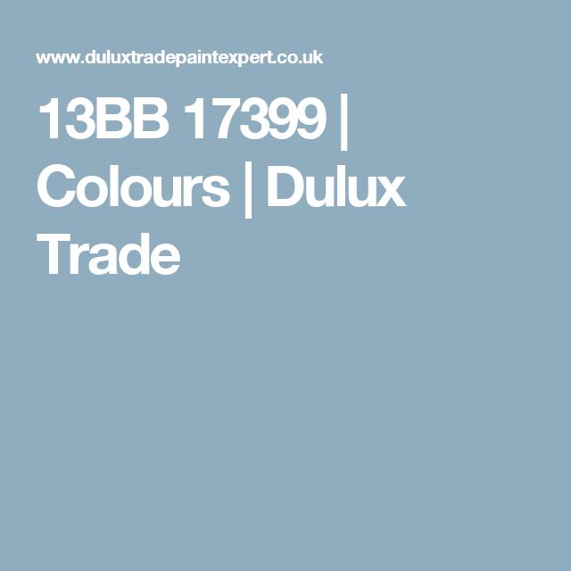 Dulux Trade, Colours