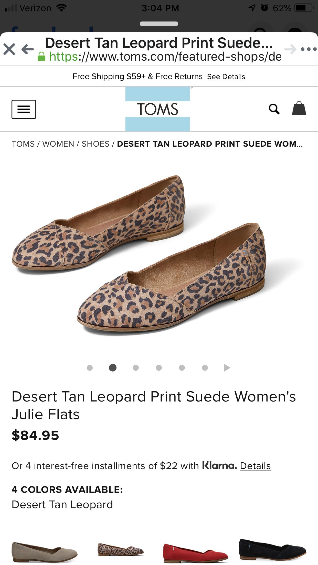 Desert Tan Leopard Print Suede Women's