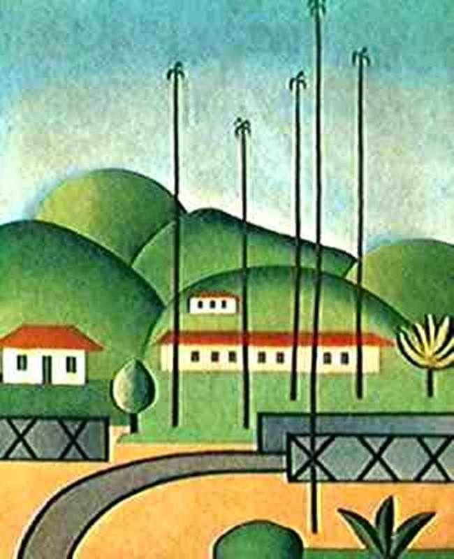 Obras De Tarcila Do Amaral Palmeiras Com Imagens Pintura