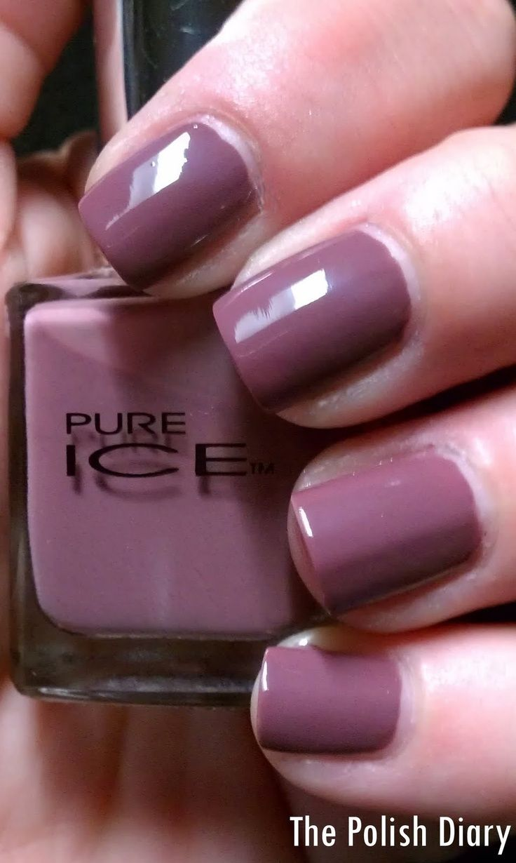 Today I Wanted To Show You Pure Ice Taupe Drawer I Love This Polish I Picked It Up From Wal Ma
