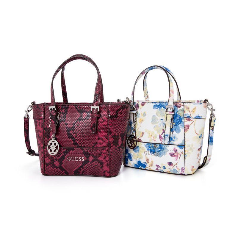 Delaney Floral-Print Mini Tote Handbag With Crossbody Strap 3 Colors Bag  Nwt Xtl ddf9a0e71c7d0