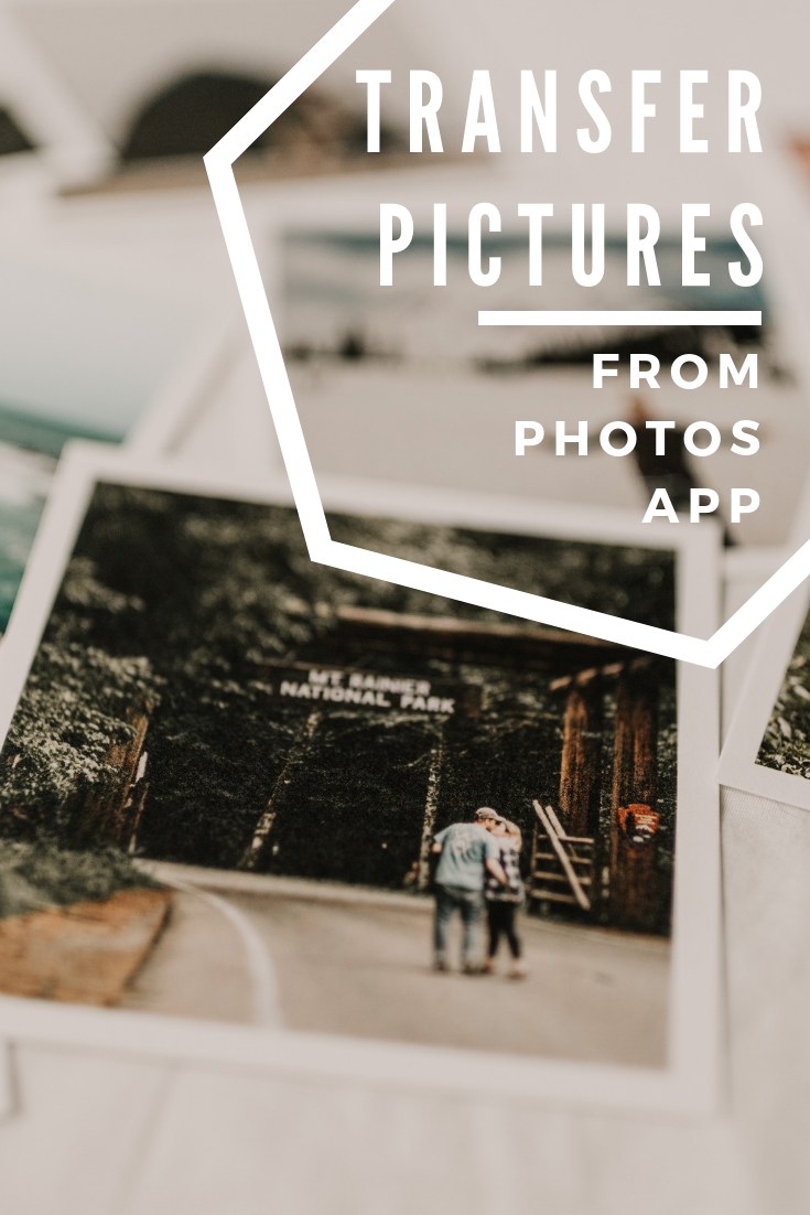 Transfer pictures from Photos app to Lightroom Photo