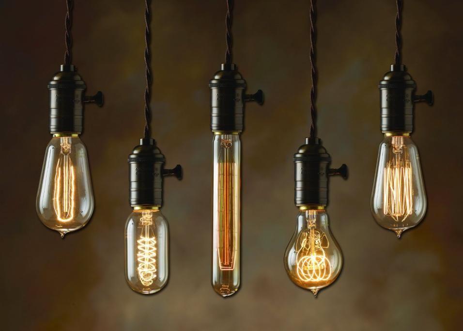 Le lampade lampadina interior design idee per l illuminazione