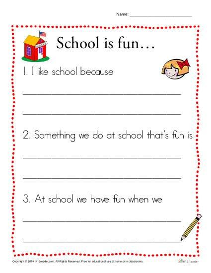 1st grade writing prompts printables Browse over 290 educational resources created by first grade fun times in the  official  back to school silly sentences writing prompts beginning o  to  school activities writing prompts task cards plus recording sheets for most of them.
