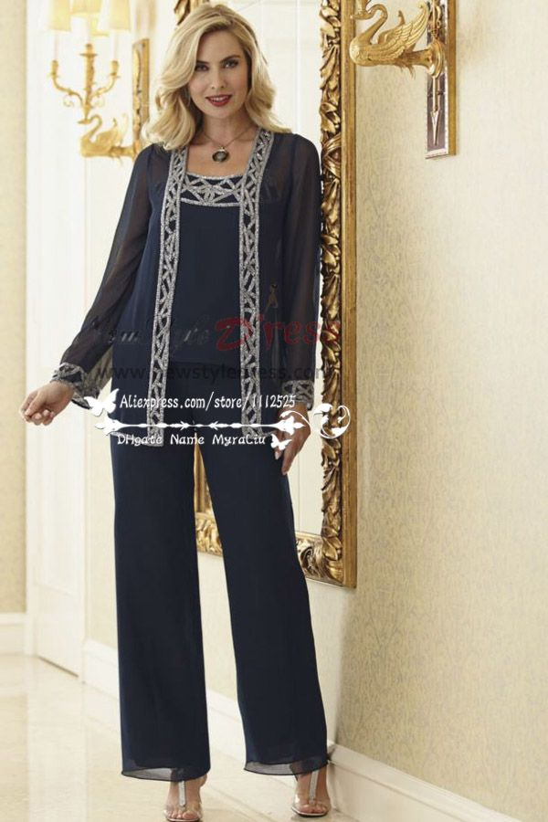 Elegant Mother of the Bride Pant Suits