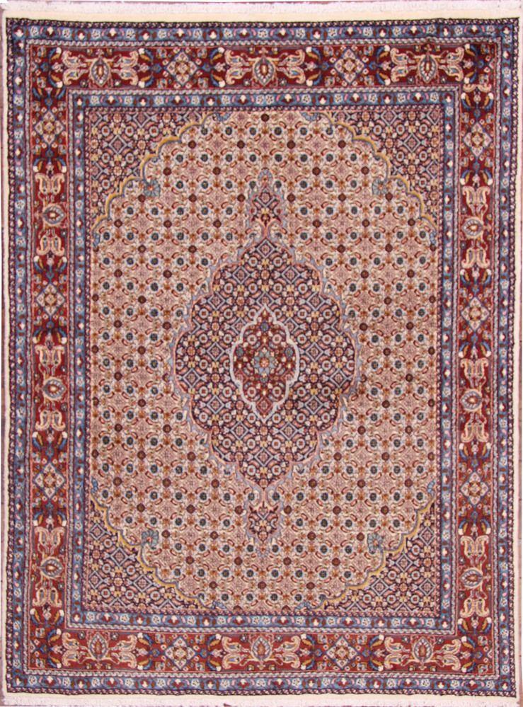 Tapis Moud Partir De Iran 196 X 147 Cm Lionel Mud Mood Rugs