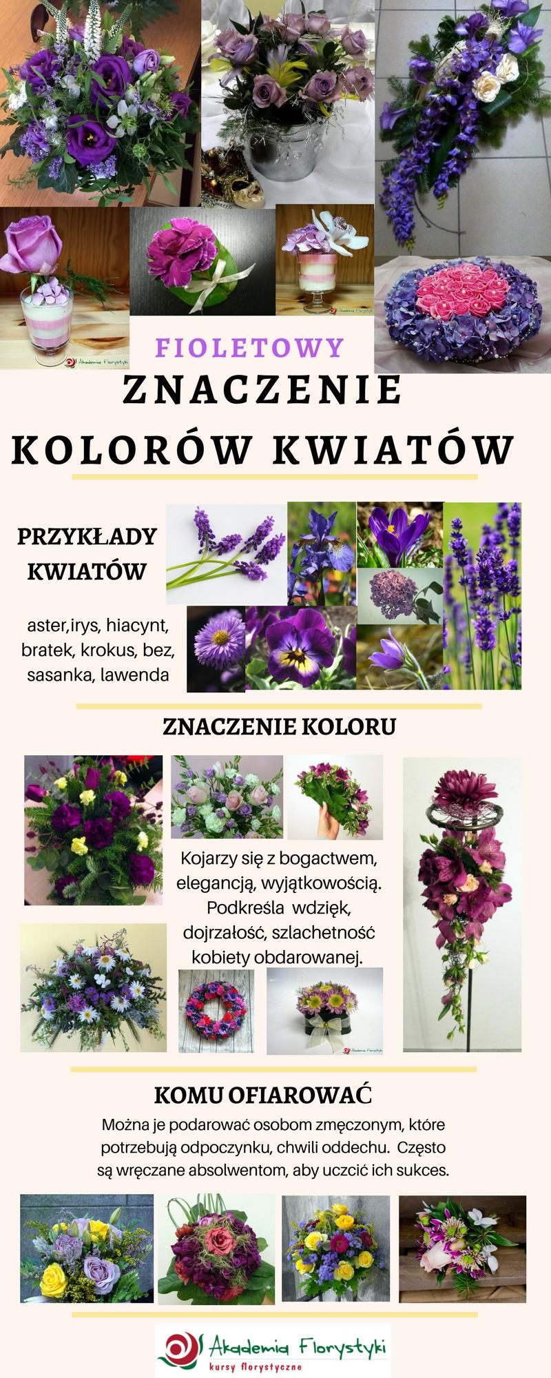 Znaczenie Kolorow Kwiatow Fioletowy Lawenda Krokusy Flowers