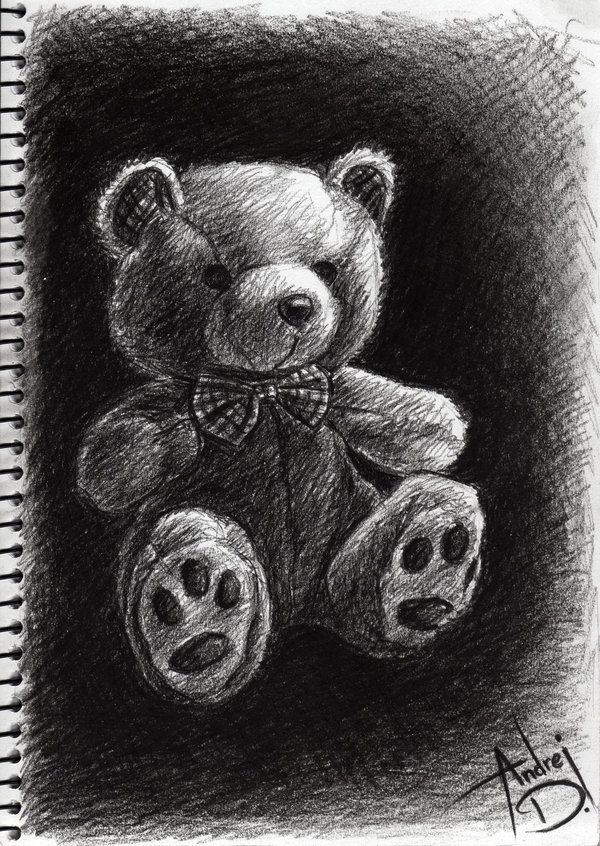 Unique teddy bear sketch by andrej2249 on deviantart.com ...