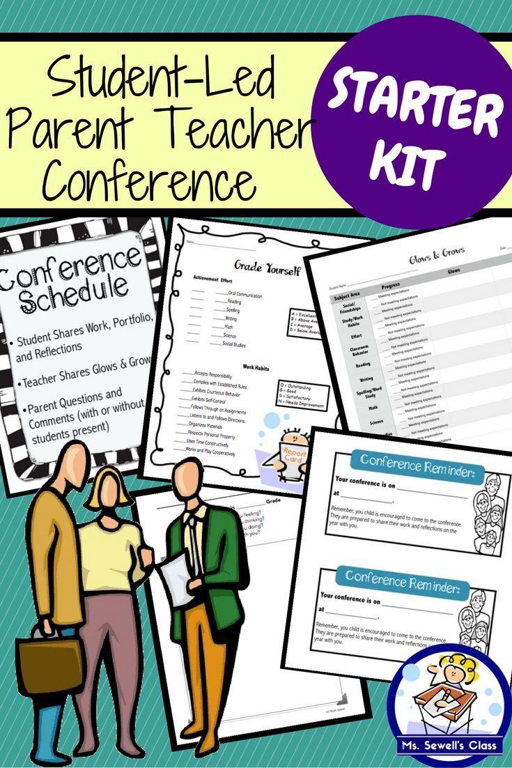 Student led parent teacher conference starter kit teacher student led parent teacher conference starter kit altavistaventures Gallery