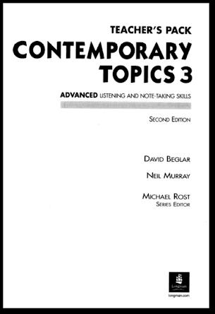Longman Contemporary Topics 3 Teacher S Pack 2nd Edition Tủ Sach Học Ngoại Ngữ Tiếng Anh
