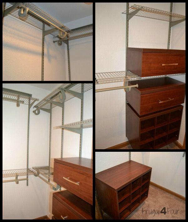This Is A Real World Makeover U2013 Let It Inspire You! Installing ClosetMaid  ShelfTrack Elite
