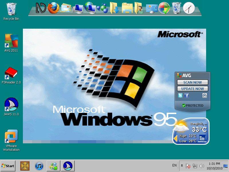 Windows 95 Theme for Windows 7 | Windows 7 | Windows 95