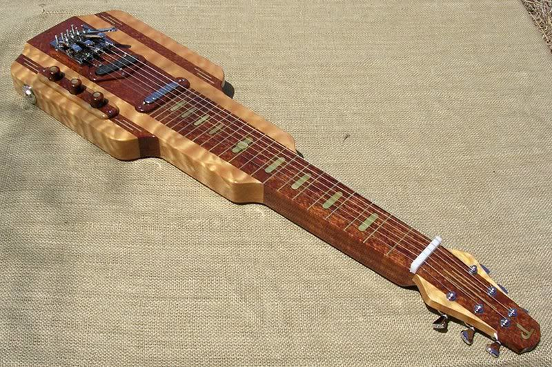 Deco Model Lap Steel That Was Partially New Yorker Inspired