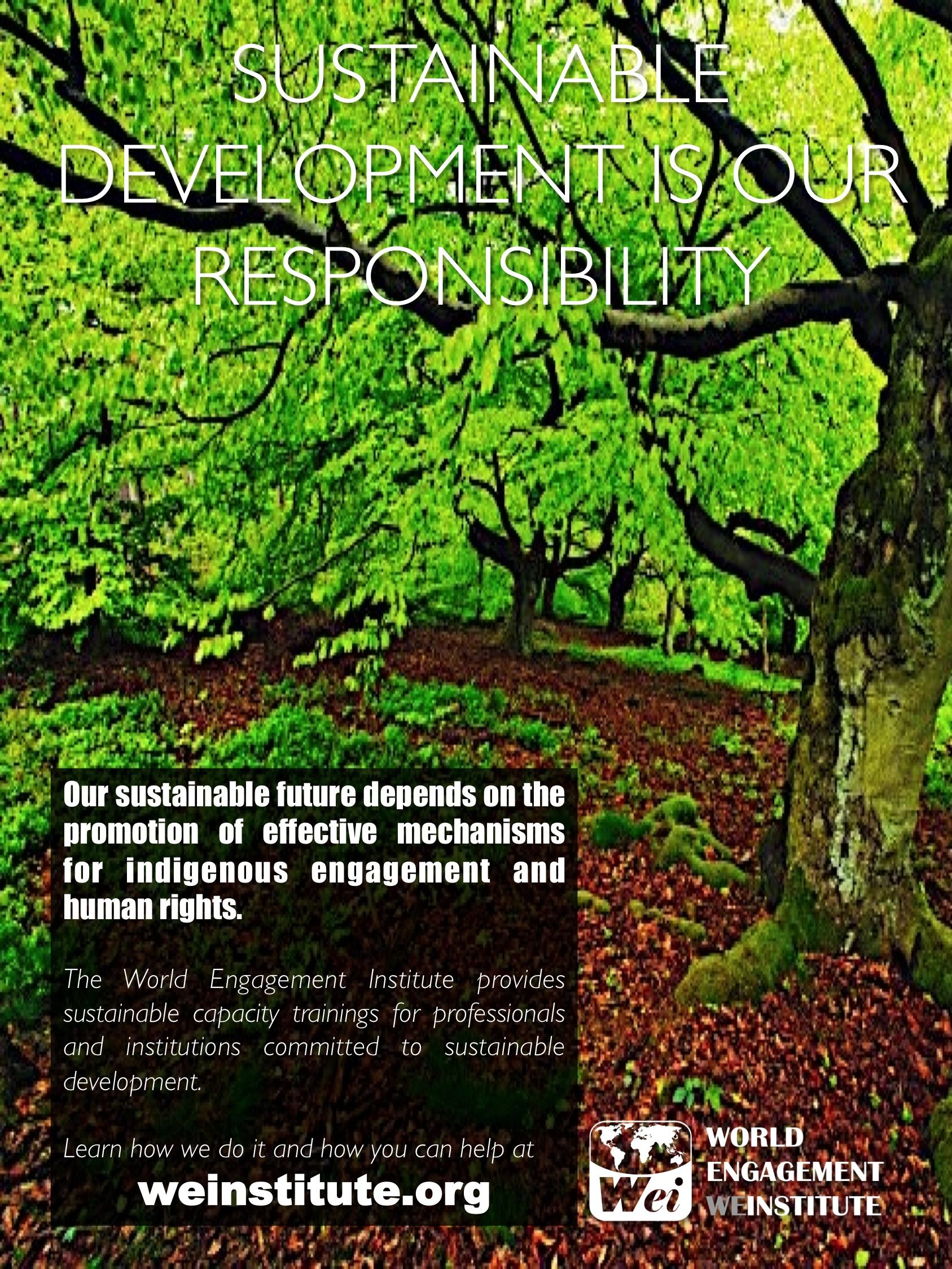 Learn about our work on sustainable development at http://weinstitute.org