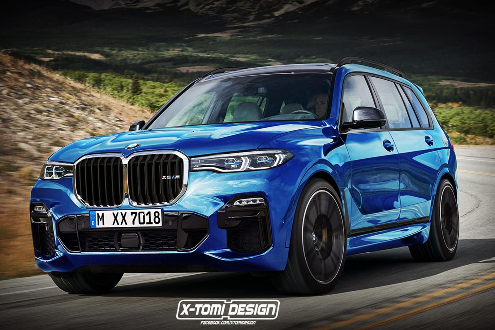 Bmw X7 M Was Considered For Production Plans Scrapped For Now