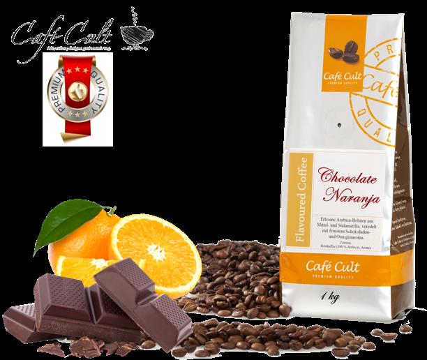 Café Cult Naranja Chocolate. www.mardete.com