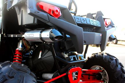 Trinity Racing Stage IV Dual Exhaust for Polaris RZR XP 900