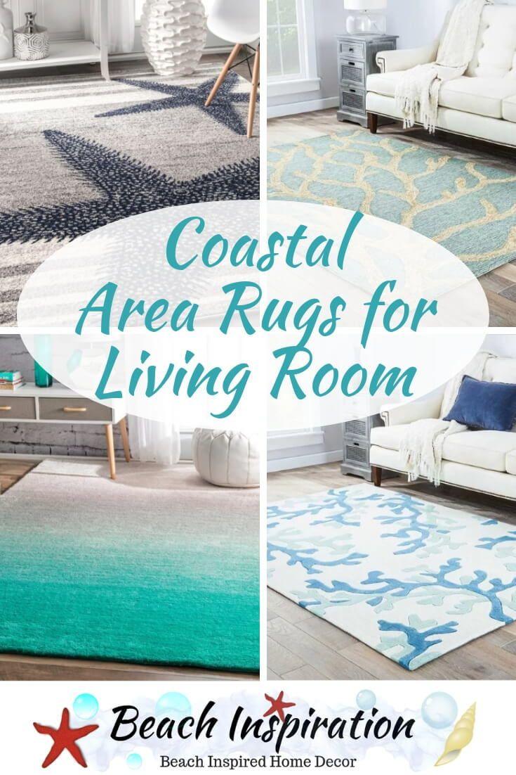 Coastal Area Rugs For The Living Room Beach House Decor Living Room Beach Theme Living Room Coastal Area Rugs
