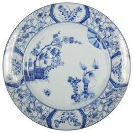 assiette-en-porcelaine-de-limoges-haviland-et-parlon-les-cerisiers ...
