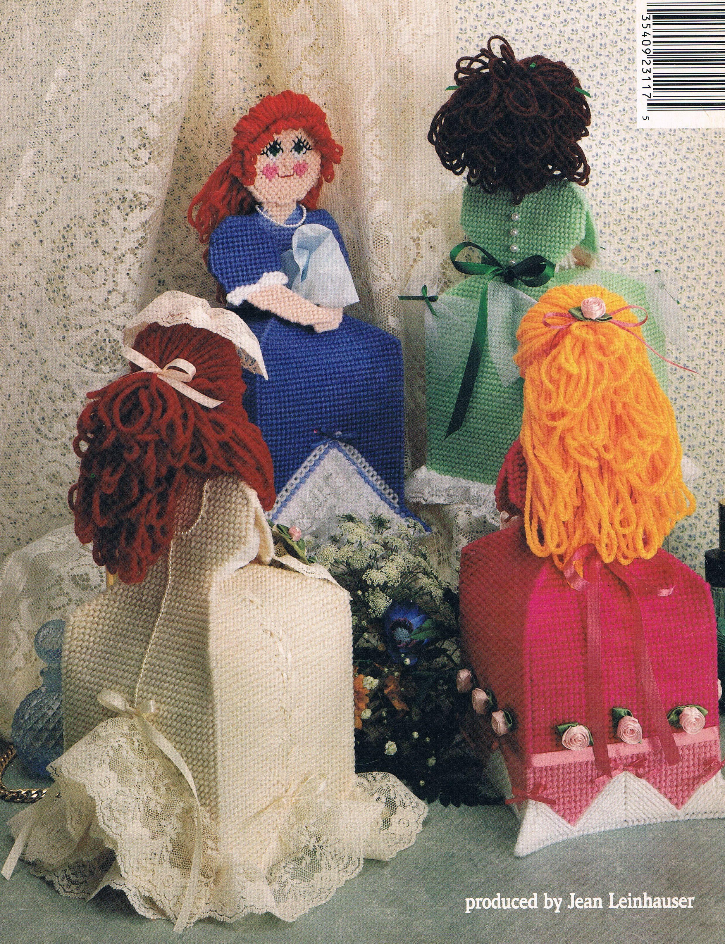Tissue box dolls 17 17 lona de pl stico pinterest - Lonas de plastico ...